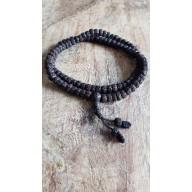 Bracelet collier mala en roche volcanique