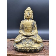 Statue bouddha indien sakyamuni