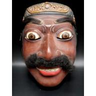 Masque du Topeng javanais mil. XXème