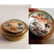 Boîte orientale miniature sur nacre mil. XXème