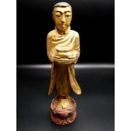 Bonze birman XXème