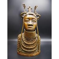 Tête en bronze d'Ifé - Nigeria