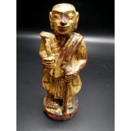 Bonze birman XIXème