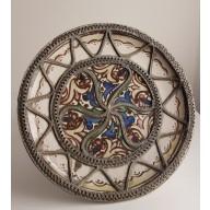 Assiette Marocaine - Décor Floral