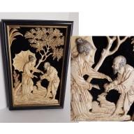 Tableau sculpte XIXème