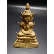 Statue thailandaise : bouddha ratanakosin XXème