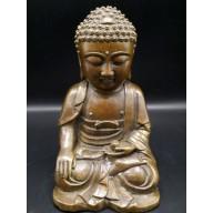 Statue bouddha  en bhūmisparśa-mudrā XXème