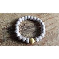 Bracelet Mala tibétain en pierre