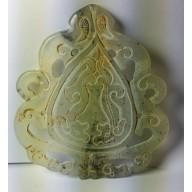 Grand pendentif en jade