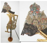 Bathara Indra : Marionnette javanaise