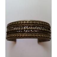 Bracelet en argent mil. XXème