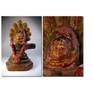 Statue indienne linga  des indes XXème