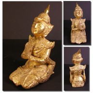 Nat birman en prière XIXème
