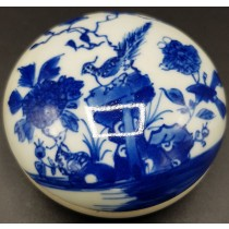 Boîte chinoise en porcelaine