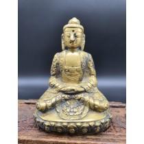 Statue bouddha indien sakyamuni mil. XXème