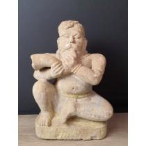statue indienne : Grande statue en pierre