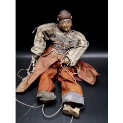 Marionnette birmane de l'alchimiste XIXème