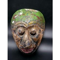 Masque  javanais du Topeng mil. XXème