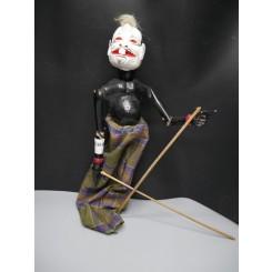 Semar Punakawan : Marionnette balinaise mil. XXème
