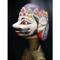 Bhima : Tête de Marionnette balinaise