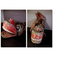 Masque de cérémonie javanais