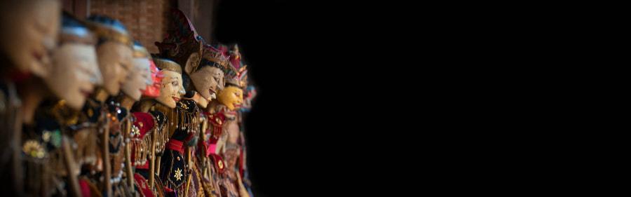 Marionnette indonesienne